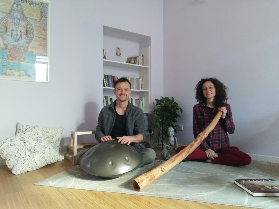 Sabato 28 Novembre On Line ore 17:00: Yoga & Sound